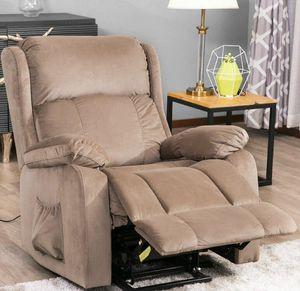 미국 주식 오리스 모피. 원격 PP038658EAA와 파워 리프트 의자 소프트 패브릭 실내 장식 안락 의자 거실 소파 의자