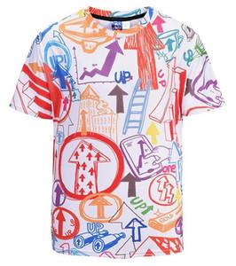 185jkii Lüks tee Mens DesignerMens Tasarımcı T Shirt Sikke Erkek Moda Tasarımcısı T Shirt En Kısa Kollu S-XXL Of Siyah Beyaz Tasarım