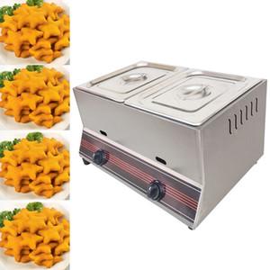 En 2020 la CE Gas Comercial Fryer Fries Chicken franceses Freír horno Pot Gas Comercial Alimentos freír la máquina para el hogar o tienda