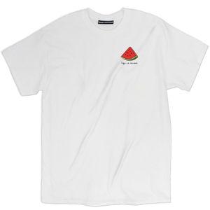 Мужская футболка 2019 Новейший Life Is Сладкие арбузы Delight Сыпучие Fit T-Shirt Tee Base Shirt