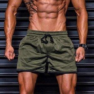 Kurul Şort Katı Elastik Bel Spor Boys Mayo Üstü Diz Düz Aktif Erkek Spor Pantolon Yaz Erkek QuickDry