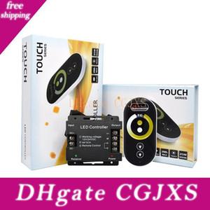 RF Touch 6keys DC12 -24 6a / Ch Remote Rgb Iron Shell Led управления контроллера 2CH Для SMD5050 3528 RGB LED Strip Lighting