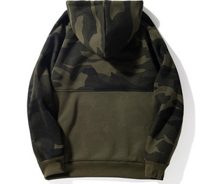 Men Camouflage Hoodies Fashion Brand Casual Hip Hop Mens Fleece Hoodies Military Pocket Full Sleeve Hooded Pullover Male Clothes55