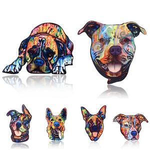 Mode créative Broche Pins chien abstrait en forme Designer Hot Broches vente en gros acrylique Corsage femmes Bijoux