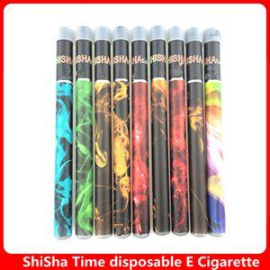Shisha Zeit Einweg Vape Pen e Zigarette Kit 500 Puffs Eshisha e Shisha voll gefüllte Einweg e Shisha Dampf Stift