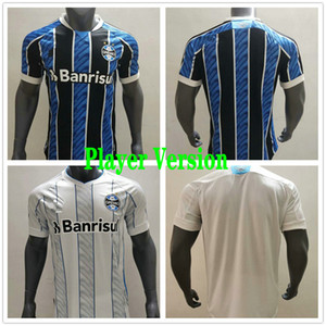 Player Version 2020 2021 Gremio Soccer Jerseys DOUGLAS DIEGO HAILON LUAN MILLER LAGHETTO Custom 20 21 Home Away Football Shirt Uniform