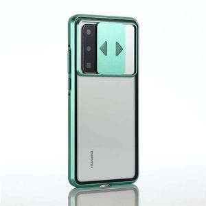 Vetro Adatto Mobile Phone Case Cassa di assorbimento magnetico del telefono nuovo obiettivo protezione anti capolino a doppia faccia per l'iPhone DHL
