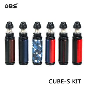 CUBI pelle OBS CUBI 80W Box Kit 80W Mod 4 ml CUBE serbatoio con M1 Mesh bobine 100% autentico