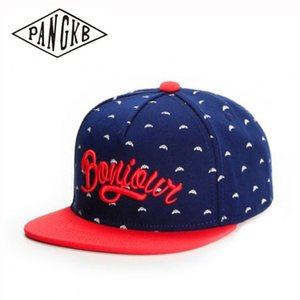 CAP Wholesale retail adult casual sun baseball cap for men women hip hop snapback hat red bone