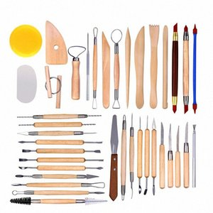 38 -51 pieces pottery clay sculpture tool indentation silicone pen Sculpture knife set multifunctional combination 942V#