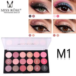 Miss Rose Multicolor Pressed Matte Eye Shadow Powder Eyeshadow Palette Pigment