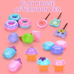 Kid Afternoon Tea Play house Toy Simulation Dessert toy Cute Ice cream Cupcake Toy Kid Girl Gift