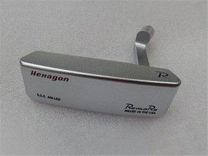 Romaro Hexagon Putter Romaro Hexagon Golf Putter Romaro Golf Club 33/34/35 pollici Pozzo d'acciaio con copertura della testa Ilwm #
