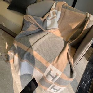 NOVO MELHOR Quailty Carta Grey H 90% lã Blanket Início Sofá-cama Big Size 140 * 180 centímetros boa marca quailty blanke HHHHHHBlanket