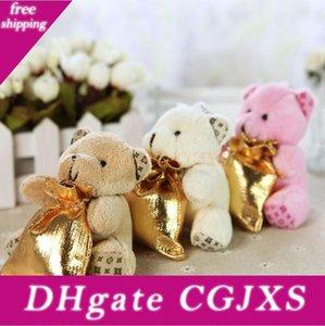 3 Farben Little Bear mit Rucksack Hochzeit Beuter für Babyparty Hochzeit Dekorationen Party Supplies Lx3930