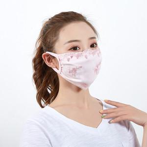 Anti-Dust Хлопок Рот маска Черный Защитные маски одноразовые маска для лица женщина носить черный Мода 5 цветов