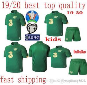 migliore 19 20 Irlanda FC Home Kids nazionale magliette di calcio ragazzi Soccer Jersey