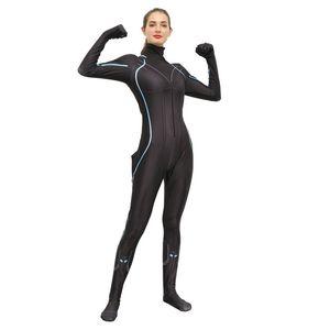 Avengers Endgame Schwarze Witwe Kostüm Halloween Frauen Avengers 4 Natasha Romanoff Kostüme Black Widow Jumpsuit