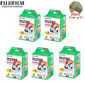 10-200 fogli INSTAX MINI 11 9 Film Bianco Edge Film largo da 3 pollici per fotocamera istantanea Mini 8 7s 25 50s 90 Carta fotografica