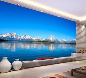 Wallpaper 3D Beautiful Landscape Scenery Living Room Bedroom Background Wall Decoration Mural Wallpaper