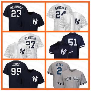 45 Gerrit Cole Jersey Yankees Jersey 99 Aaron Richter 2 Derek Jeter 59 Luke Voit 26 DJ LeMahieu 29 Gio Urshela Aaron Hicks Brett Gardner Männer