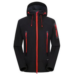 NUONEKO Softshell Hommes Femmes coupe-vent imperméable Vestes coupe-vent Soft Shell Homme Veste de ski Randonnée chaud Manteaux JM05