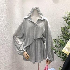 6Cs7M Dongdaemun 2020 gomma Abbigliamento abbigliamento banda vestiti protezione solare stile estate allentato coreano temperamento dimagrante incappucciato protezione solare coat +