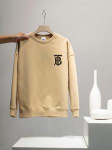 2020fw clássico popular Mens Designer TB de impressão 5 cores camisola bur pulôver luxo de manga comprida camisola exterior superior streetwear qualidade 910
