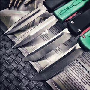"UT85 CNC mini VG10 blade 60-62HR Benchmade BM3300 UTX85 UT121 trumpt 3 ""T6 aluminum handle camping automatic knife EDC tool"