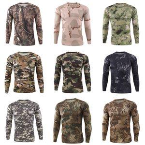 Осень Мужчины Дизайнер Tshirt Повседневный длинным рукавом Стильный Slim Fit Tshirt Кнопка Placket Solid Тис Лучшие Outwears Мужская одежда # 258