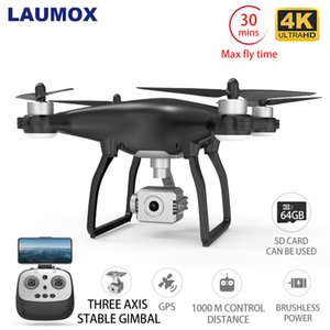 LAUMOX X35 Drone GPS WiFi 4K HD cámara profesional RC Quadcopter de motor sin escobillas Drones cardán Estabilizador de vuelo 26 minutos