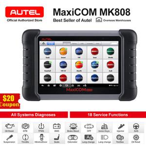Autel MaxiCOM MK808 Car Diagnostic Tool Automotive OBD2 Scanner OBD 2 Auto Code Reader Key Coding IMMO PK MX808