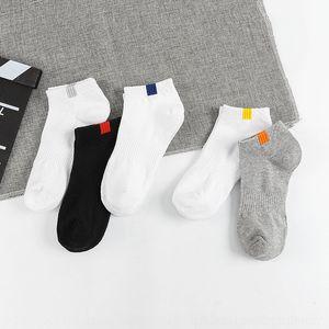 UKgil paño Puesto verano delgadas cDjNs imitación transpirable etiquetan ocasionales de los deportes calcetines finos del verano TREN algodón transpirable Imit etiqueta deportes de los hombres