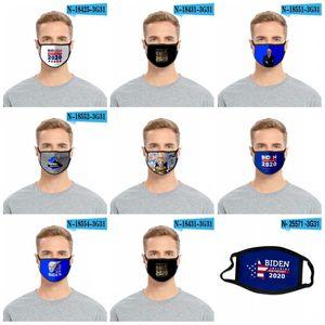 2020 Reusable Washable Cloth Face Masks Dustproof Mascarilla Anti Bacteria Respirator Us Presidential Candidate Joe Biden Harris 2 2fda D2