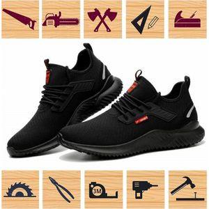 hommes MWSC de haute qualité Chaussures de sécurité de travail indestructible courir des bottes de construction de chaussures de chaussures de sport de sécurité