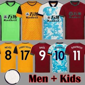 2020 2021 RAUL NEVES Attrezzature maglie calcio Podence ADAMA Adulti Bambini 20 21 magliette di calcio Doherty Diogo J Uomini kit Maillots de foot