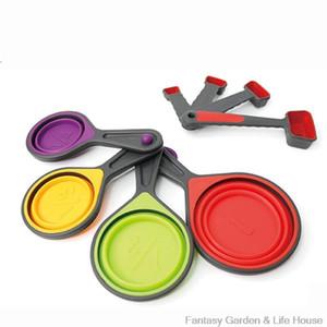 8 pezzi cottura dosatore impilabile e nested Design Facile da pulire Convenience lavastoviglie