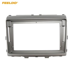 "FEELDO Car Audio 9"" Big Screen Fascia Frame Adapter For Mazda 8 2Din DVD Player Dash Fitting Panel Frame Kit #6597"