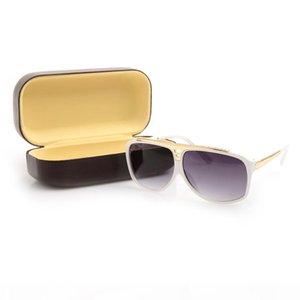جودة عالية العلامة التجارية نظارات الشمس أزياء رجالي بينة نظارات شمس مصمم نظارات شمسية لنمط رجل إمرأة نظارات الشمس L glassess جديد