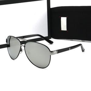 2020 NOUVEAU Style Pilote Sun Lunettes Mans Womans Lunettes de soleil Verre Lentilles Fashion Marque Sunglasses Unisexe Ray Lunettes avec étuis originaux