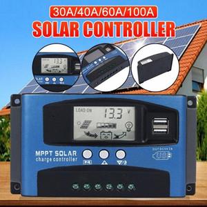 MPPT di carico solare del regolatore della carica Regolatore di Energia MPPT Focus Tracking Autofocus DC12V / 24V 30A 100A Atv Parti all'ingrosso Distributo l9at #