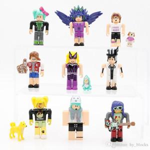 ROBLOX Game Nine Figure Pack 7cm Model Dolls Set Cartoon Anime Action Figures Building Blocks Christmas Gifts Boys Kids Toys