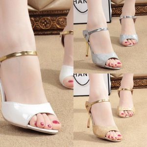 GqVrN 2020 e delle donne sexy tacco alto con moda Fishmouth stiletto dimensioni discoteca 43 2020 e sandali da donna con tacco alto sexy con