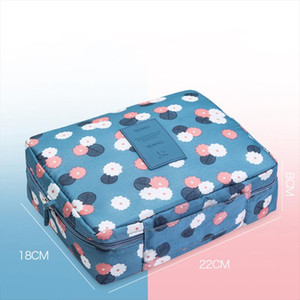 High quality Multifunction Cosmetic Bag Women Toiletries Organizer Makeup Bags Waterproof Female Storage Make up Cases