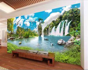 beibehang папье пэинт настенная 3d behang пейзаж фото обои декорации чудес ТВ фон обои стена для стен 3 д