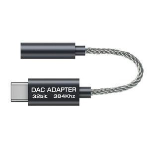 Cgjxsusb C için 3 .5mm Hifi Dac Aux Kulaklık Adaptörü Realtek Alc5686 Tipi -C için 3 .5mm Ses Dönüştürücü Kablo