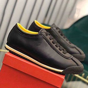 luxury designer WW 2020 new high quality men's casual shoes men's fashion leather sneakers daily casual shoes embroidered pattern ac92