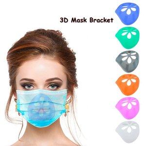 3D Máscara de soporte 6 colores reutilizable de protección labial ayuda del soporte del interior de la nariz Aumentar Breathing Space Boca de la cubierta 200pcs titular CCA12488