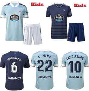 new 2020 2021 Celta Vigo soccer jerseys Aspas Gomez Sisto children sets camiseta de futbol RC 20 21 boys suit football shirts