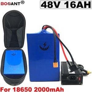 48V 16AH E-bike Lithium Battery pack +a Bag For Bafang BBSHD BBS02 500W 800W 1200W Motor Electric bike battery +5A Charger